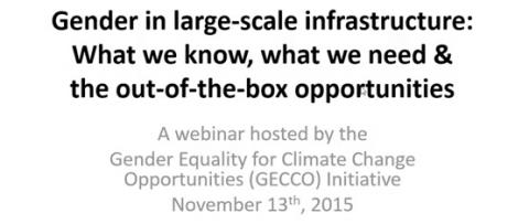 Gender in a large-scale infrastructure: What we know, what
